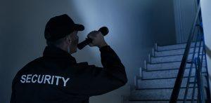Företagslarm med rörelsedetektorer